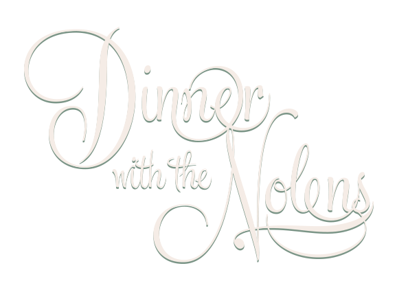 dinner with the nolens logo