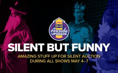Silent But Funny: Our Auction Launches Tonight!