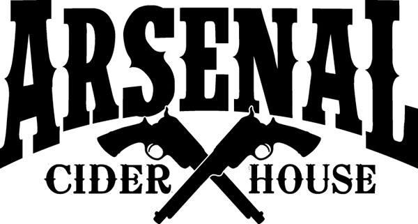 a logo for Arsenal Cider House