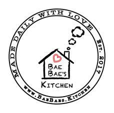 a logo for Bae Bae's Kitchen