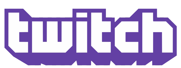 Logo for the website Twitch.tv